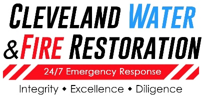 Cleveland Water & Fire Restoration Logo SMALL